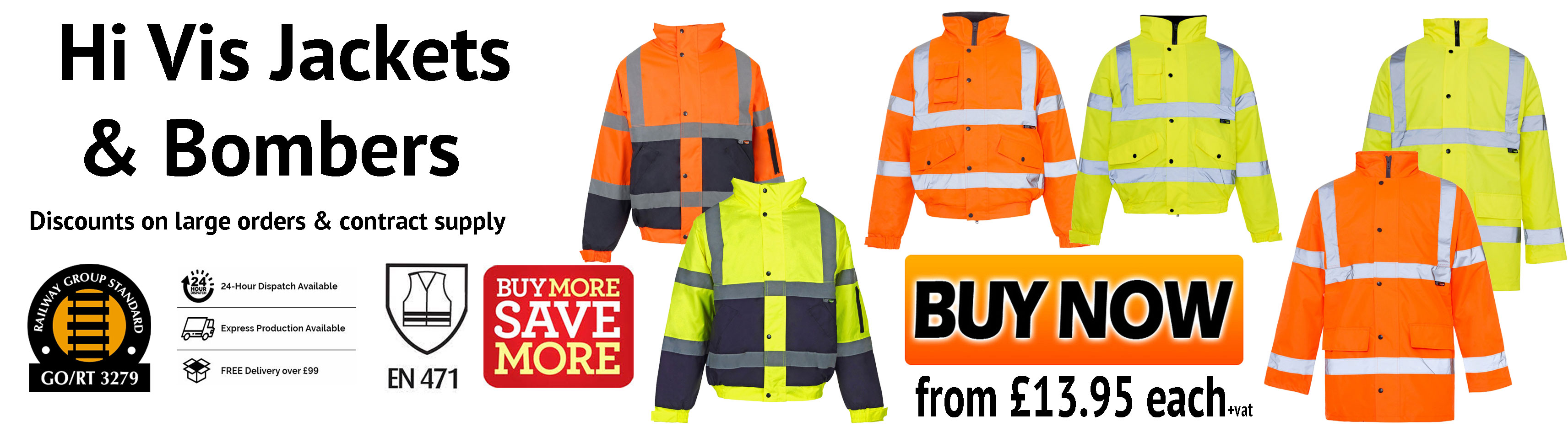 Security & Protection Urban Supply Hi Vis Fire Retardant Orange Welding Coat Quilted Safety Mens Winter Jacket