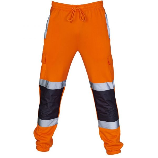 Jogging Bottoms Dickies Two Tone Hi-Vis Jogger Pants Orange /& Navy All Sizes