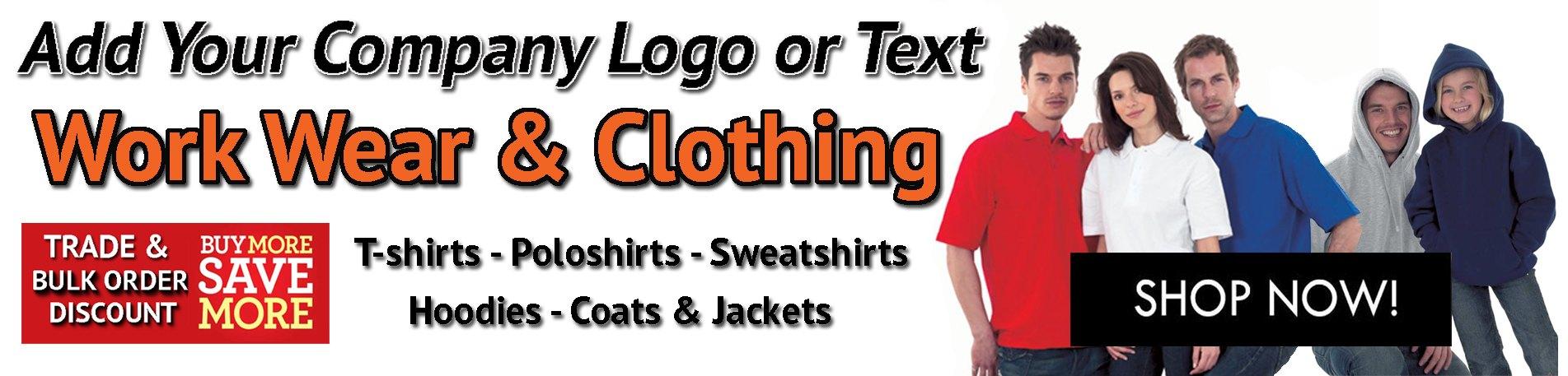 Custom Printed Clothing & Workwear